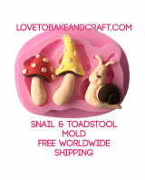 Snail mold, fairy mold, fairy house, toadstool , fairy mould, snail mould, fairy house mould, free worldwide shipping